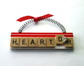 Heart Doctor Scrabble Tile Ornament