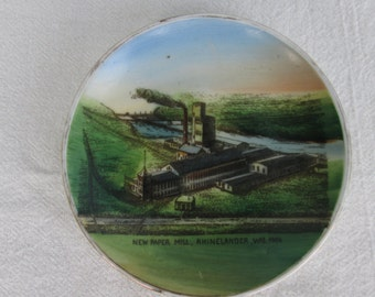 Vintage Miniature Advertising Plate