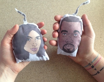 Kim & Kanye (His and Hers) Scented Drawer Sachets
