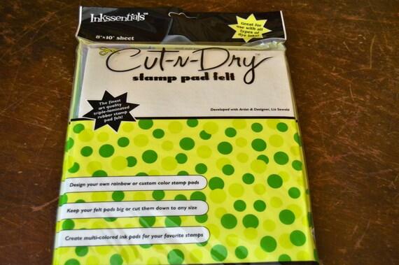 Stamp Pad Felt Cut N Dry 8x10 Sheet Stamp Felt By