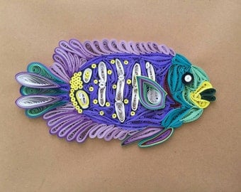 Tropical Fish Wall Art