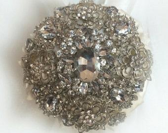 Mini Brooch Bouquet, Bridesmaid Bouquet, Bridesmaids Bouquet, Full Price
