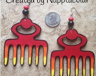 Blazing Duafe earrings