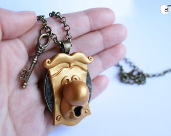 PRE-SALE Cameo necklace Passepartout (Alice in Wonderland).