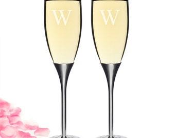 Parisian Romance Champagne Flutes