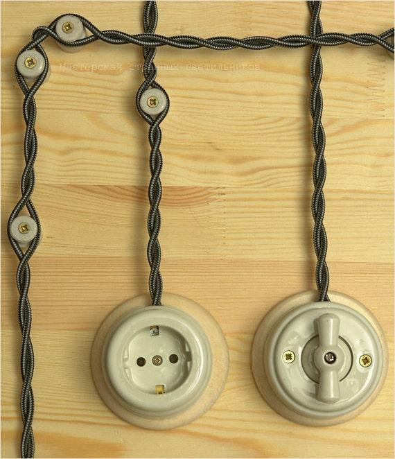 Filo elettrico stoffa pannelli termoisolanti - Colori cavi elettrici casa ...