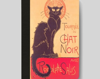 iPad Folio Case, iPad Air Case, iPad Air 2 Case, iPad 1 Case, iPad 2 Case, iPad 3 Case, iPad Mini Le Chat Noir Vintage French Ad by Steinlen