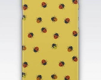 Case for iPhone 8, iPhone 6s,  iPhone 6 Plus,  iPhone 5s,  iPhone SE,  iPhone 5c,  iPhone 7  - Ladybug, Ladybird Pattern iPhone