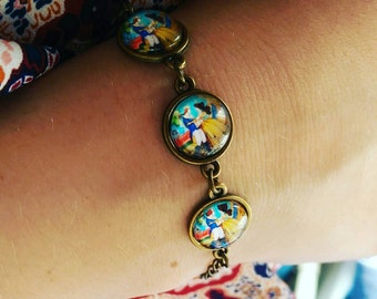 Disney beauty and the beast bracelet