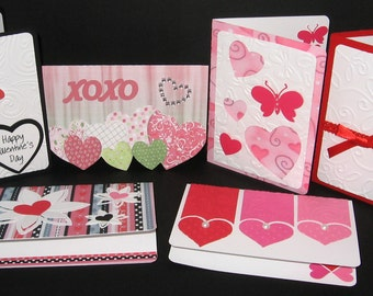 Valentine Note Cards, Set of 6
