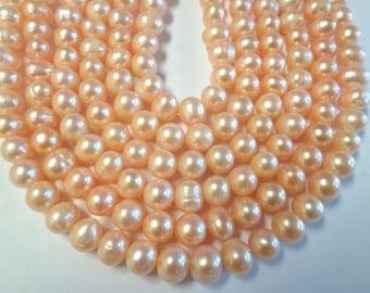 Potatoe 10m Fresh Water Pearls.!!!! full Strands!!!!