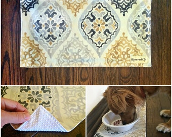 Non-Slip Bottom Addition to Pet Placemat
