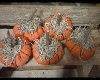 MINI Primitive Pumpkins