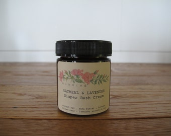 Oatmeal & Lavender Diaper Rash Cream