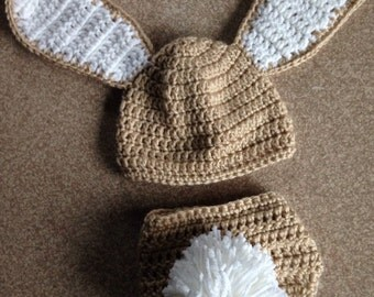 Spring Bunny Photo Prop Newborn