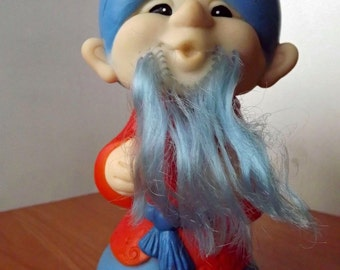 "Vintage soviet rubber toy ""wizard"". Made in the USSR. RARE!"