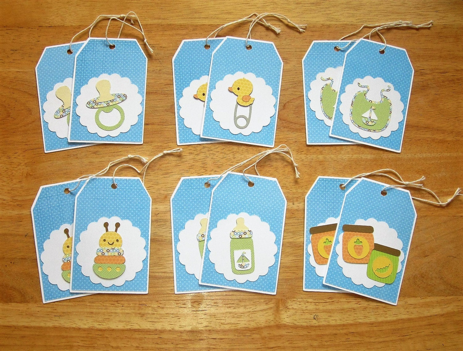 Baby Boy Gift Tags : Baby boy gift tags shower