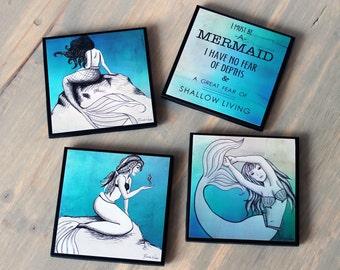 Mermaid Lover Coasters