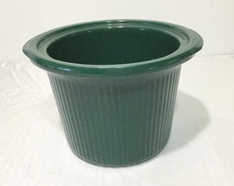 Rival Crock Pot Stoneware Ribbed Pot Slow Cooker Insert Replacement