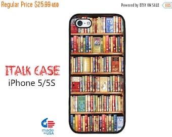 HOT SUMMER SALE Bookshelf iPhone 5S Case  iPhone 5 Case iPhone 5 iPhone iPhone 5S iPhone 5S  Protective Case iPhone 5 iPhone 5S    Bookshelf