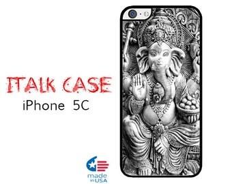 iPhone 5C Case iPhone 5C Phone Case Custom iPhone 5C Skin for iPhone 5C Cover iPhone Protective Case iPhone 5C Hindu God Ganesh