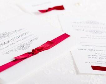Exquisite Handmade Wedding Invitation & Stationery