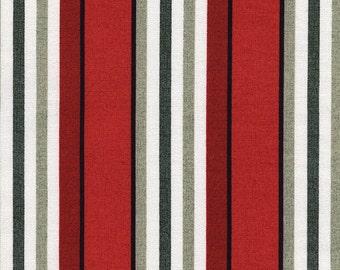 1/2 Yard Timeless Treasure Fresh Cut Awning Stripe by Michele D'Amore