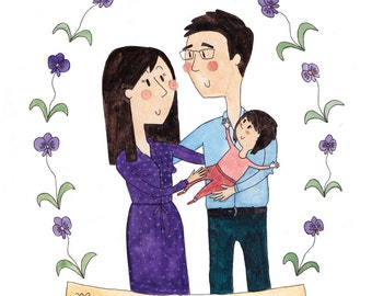 Custom Family or Friend Portraits