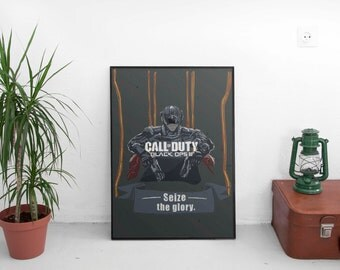 Call of Duty Black Ops 3 A3 print - (framed or unframed options available)