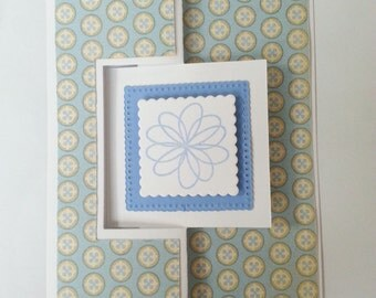 Thinking of You Card- Thinking of You- Blank Greeting Card- Greeting Card- Friendly Reminder Card- Handmade Cards- Cards- Layered Cards
