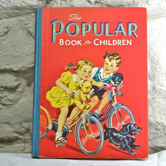 1950s The Popular Book for Children Childrens Book Hardback