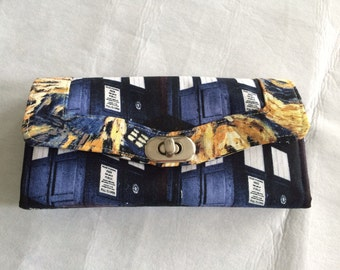 Dr Who Necessary Clutch Wallet Organizer