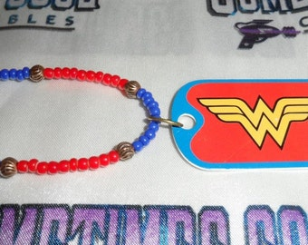 Wonder Woman Logo Necklace
