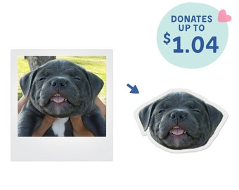 Custom Portrait Stickers (Set of 6)