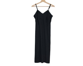 Black Vintage Nightdress / underwear dress