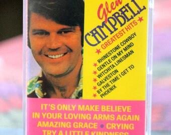 Glen Campbell  Greatest Hits  Casette Tape -EMC95