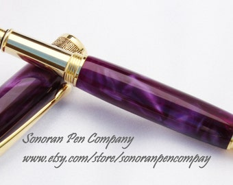New Design Purple Eggplant Fountain pen
