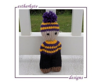 KNITTING PATTERN pdf, Knifty doll, Knifty Knitter round loom, instant  DOWNLOAD