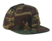 Halibut Camo Snapback Hat...