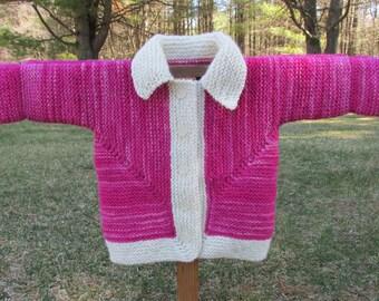 Toddler Cardigan Sweater