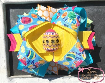 Easter Egg Boutique Bow
