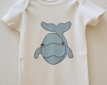 Whale Organic Made in the U.S. Onesie