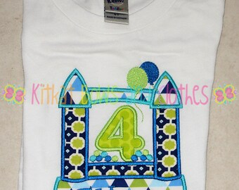 Bounce House Birthday Shirt