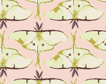 Luna Rising in Essence, Forest Floor Collection by Bonnie Christine for Art Gallery Fabrics 6094