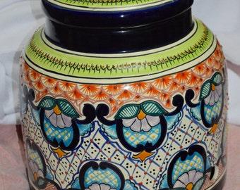 Talavera water container