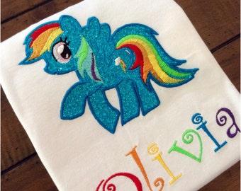 My Little Pony Applique Shirt