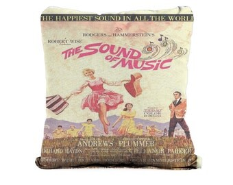 The Sound Of Music Movie - Cushion Case Covers, New Cotton Textile