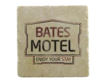 Psycho: Bates Motel Marble Tile Coaster
