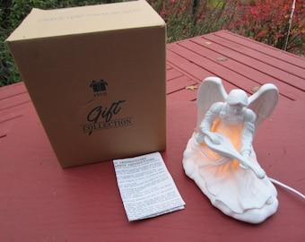 Vintage Avon Porcelain Angel Light in Box