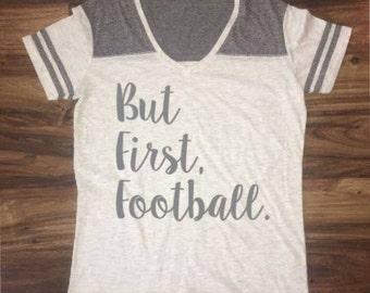 But first, football. // Jersey Tee
